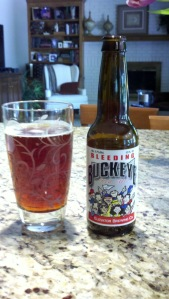 Bleeding Buckey Red Ale