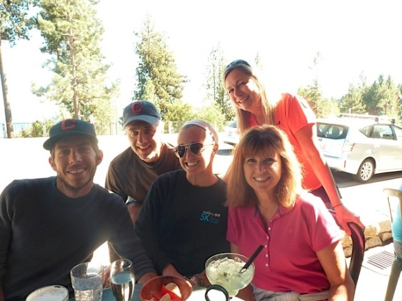 The crew enjoys tequila and tacos at Tahoe Blue Agave the day after IM