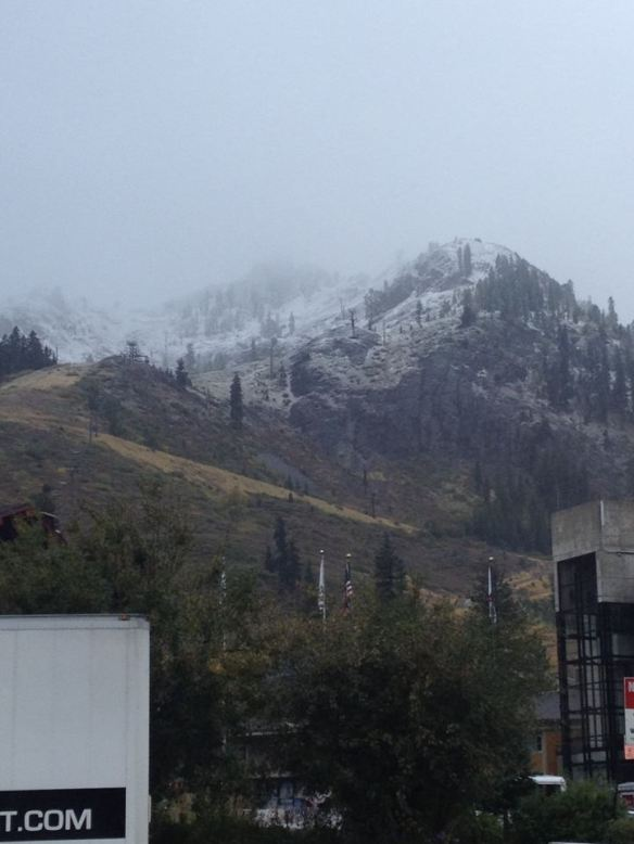 Ritch Viola posts this picture from Squaw Valley (t2/finish line) the night before. I weep.