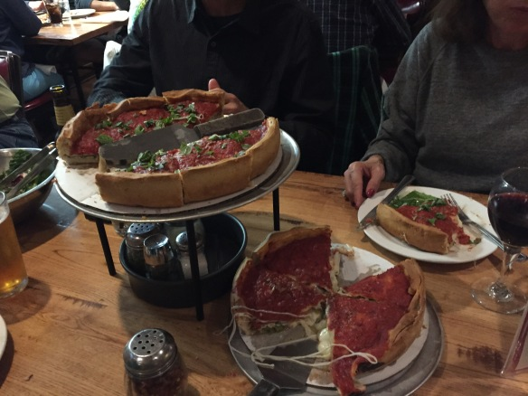 If you didn't finish your day with Chicago deep dish, you were doing it wrong