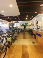 Selecting bikes from Giant